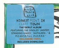 HOOTON TENNIS CLUB Highest Point In Cliff Town Vinyl Record LP Heavenly 2015 Orange Vinyl